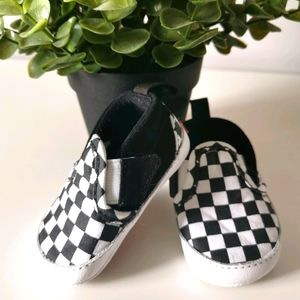 Vans Old Skool Checkered Soft Infant Shoes